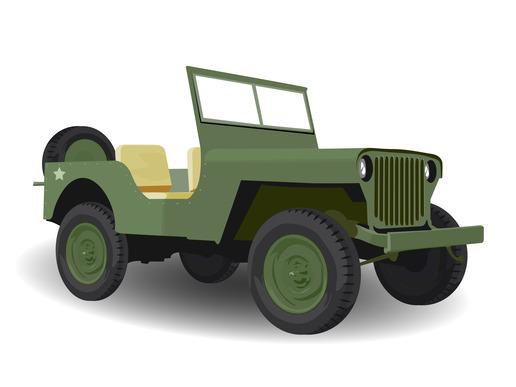 Army Jeep Vehicle