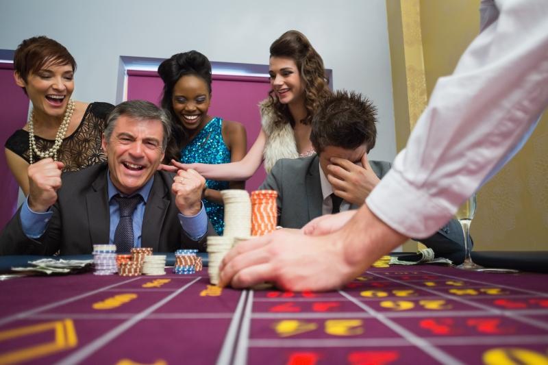 man som vunnit pengar på fysiskt casino
